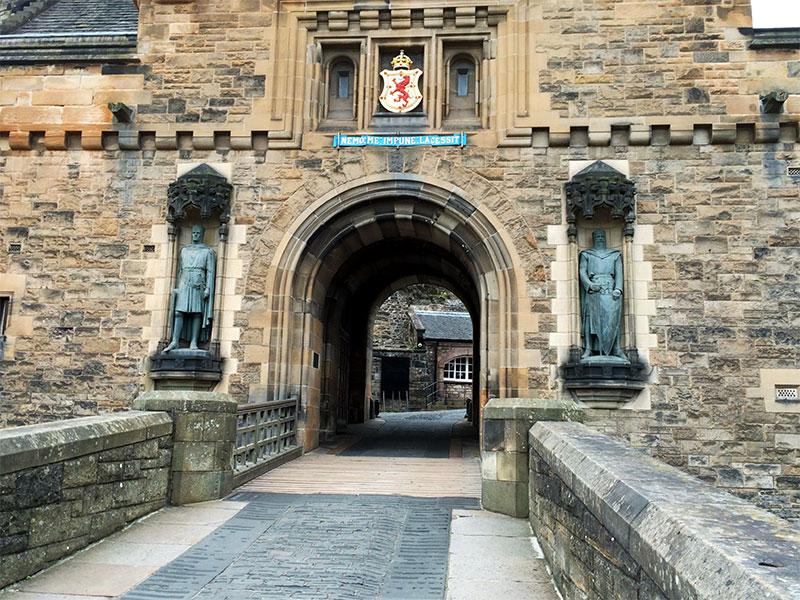 Eingang zu Edinburgh Castle