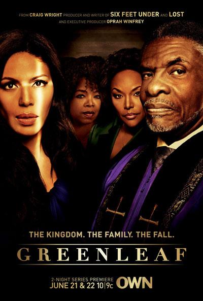"""Poster zu der Serie """"Greenleaf"""" von OWN"""