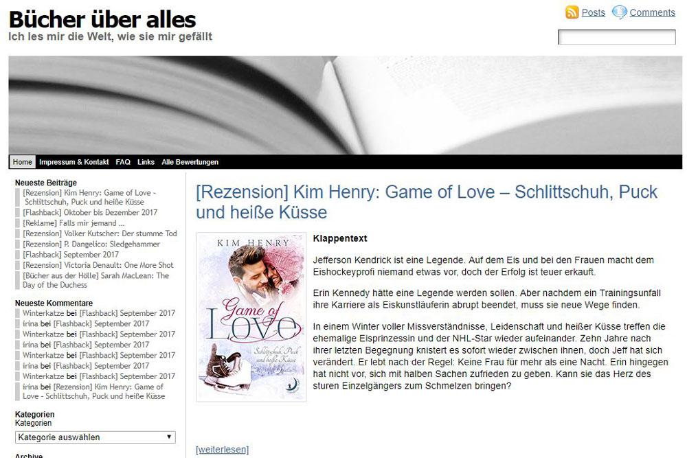 Screenshot von buecher.ueber-alles.net