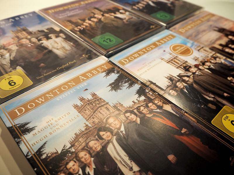 "DVDs von ""Downton Abbey"""