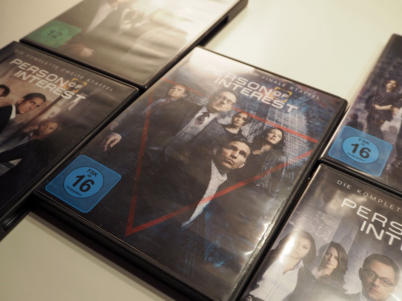 "DVDs von ""Person of Interest"""