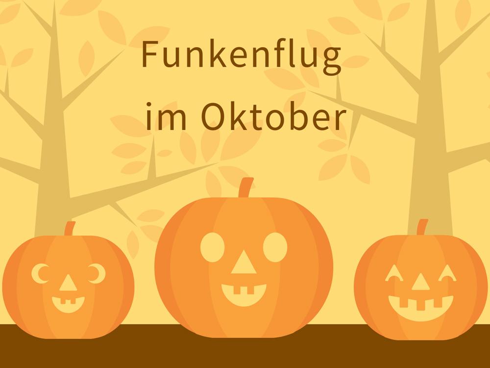 Symbolbild für Oktober mit Kürbissen