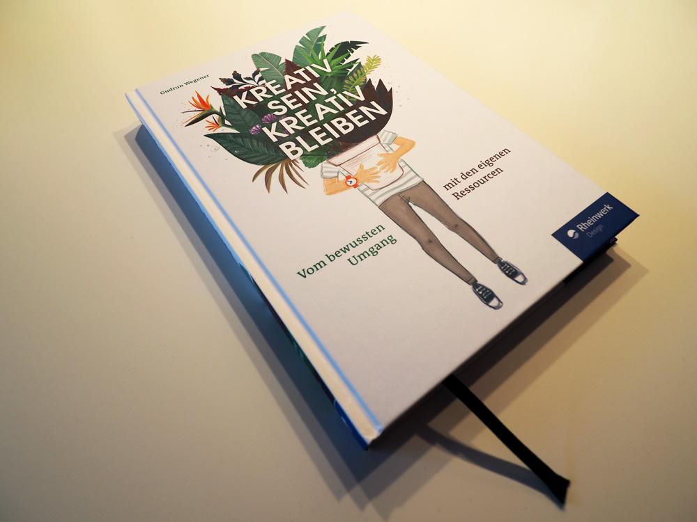 """Abbildung Buch """"Kreativ sein, kreativ bleiben"""" von Gudrun Wegener"""
