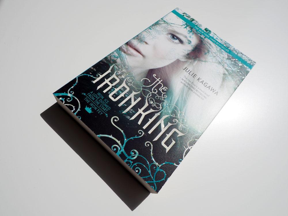 """Bild vom Buch """"The Iron King"""""""