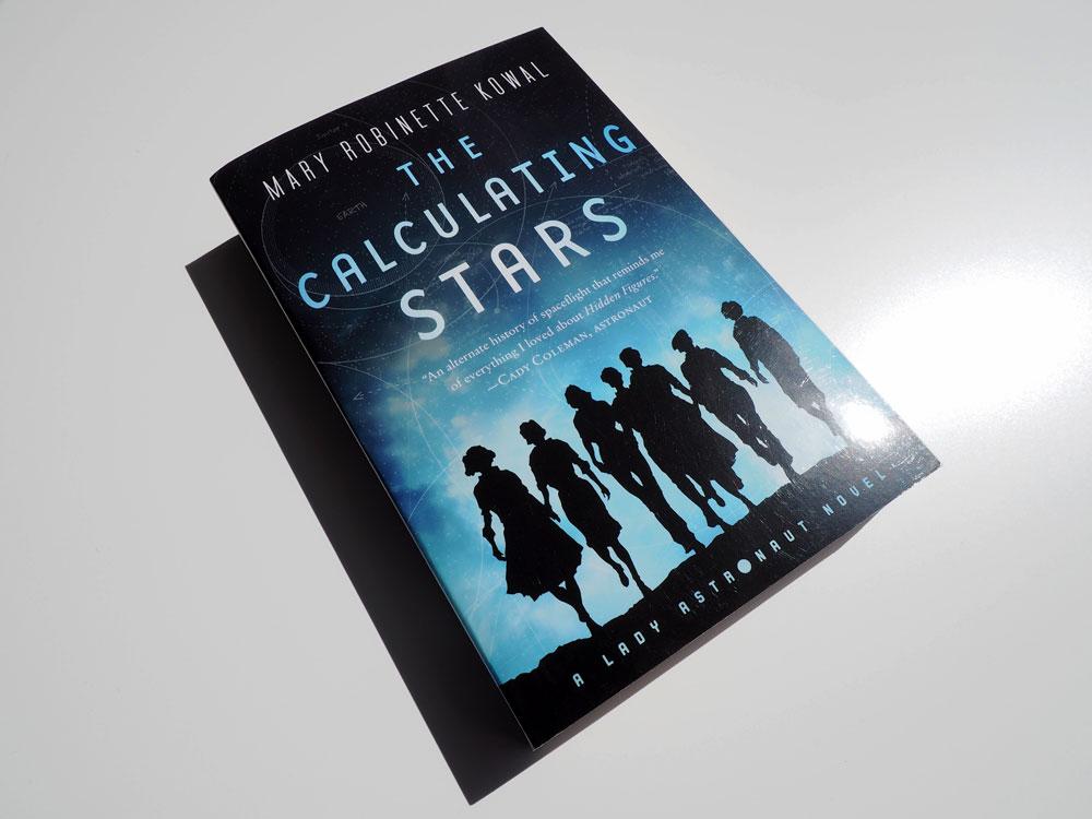 """Bild vom Buch """"The Calculating Stars"""""""