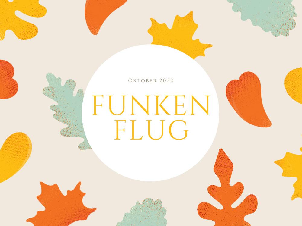 Symbolbild mit bunten Blättern für Monatsrückblick Oktober 2020