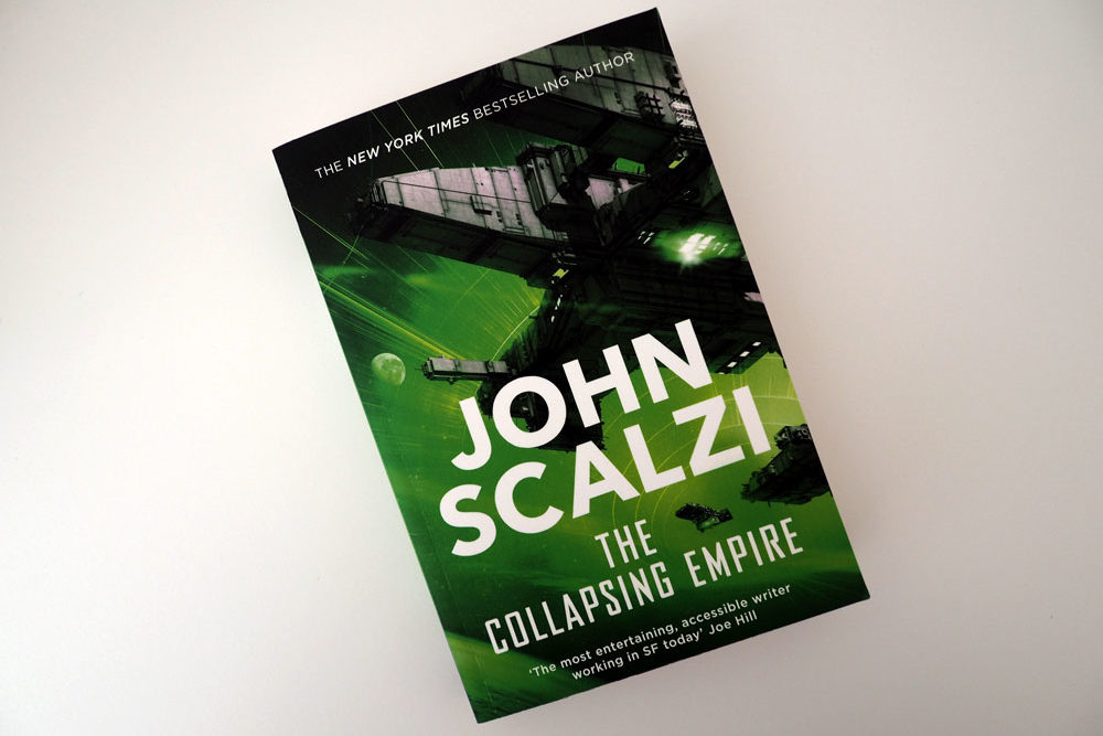 "Foto vom Buch ""The Collapsing Empire"""